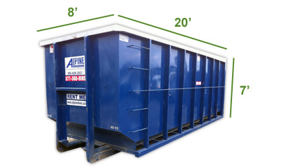 40 Yard Commercial Disposal Bin