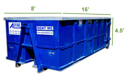 20 Yard Disposal Bin