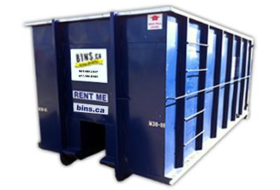 roll-off bin